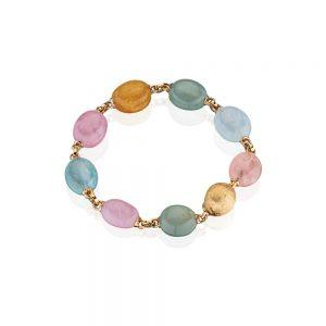 Multi-Color Aquamarine Bracelet