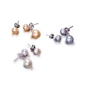 Multicolor Fresh Water Earrings