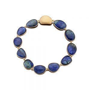 Gold Tanzanite Necklace