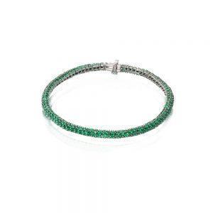Green Tsavorite Bracelet