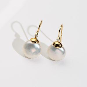 Biwa Earrings