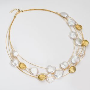 Satin Sea Necklace
