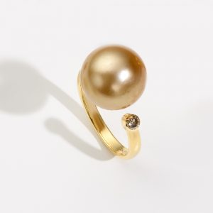 Golden Brown Ring